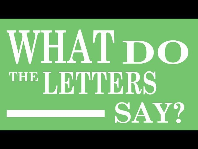 Have Fun Teaching - What Do The Letters Say? (What Does The Fox Say? Parody)