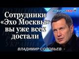 Владимир Соловьев разносит в пух и прах сотрудников