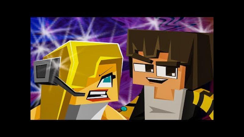 NEW MINECRAFT SONG: Hacker 4 Hacker VS Psycho Girl Minecraft Songs and Minecraft Animation