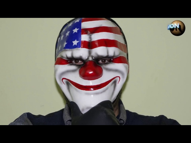 как сделать маску Даллас v 3.0 из PayDay-2 / how to make a Dallas v3.0 mask from PayDay-2