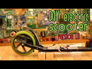 Homemade Electric Scooter - version 1