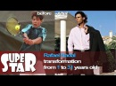 Rafael Nadal Transformation from 1 to 31 years old - Super Star