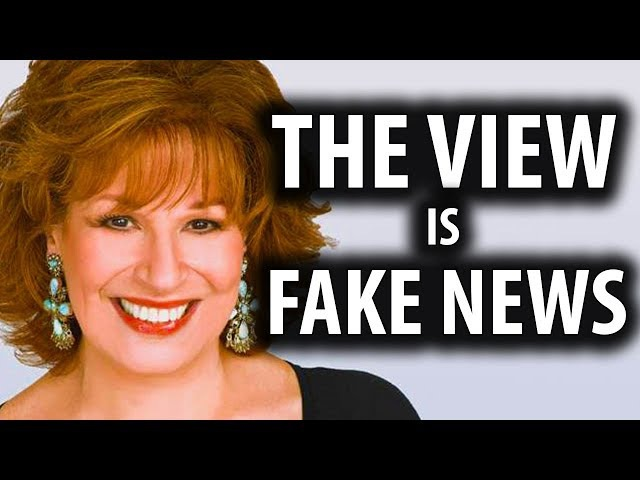 Joy Behar The View Won't Apologize for Fake News