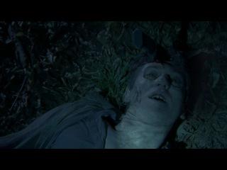 Дерил и Гленн находят зомбированного Рэндалла. Гленн убивает зомби-Рэндалла