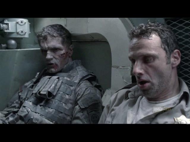 TWD - S01E01 - S01E02 - Tank Scene
