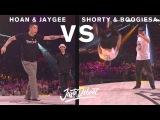Hoan & Jaygee vs Shorty & Boogiesa - Juste Debout 2017 | Danceproject.info