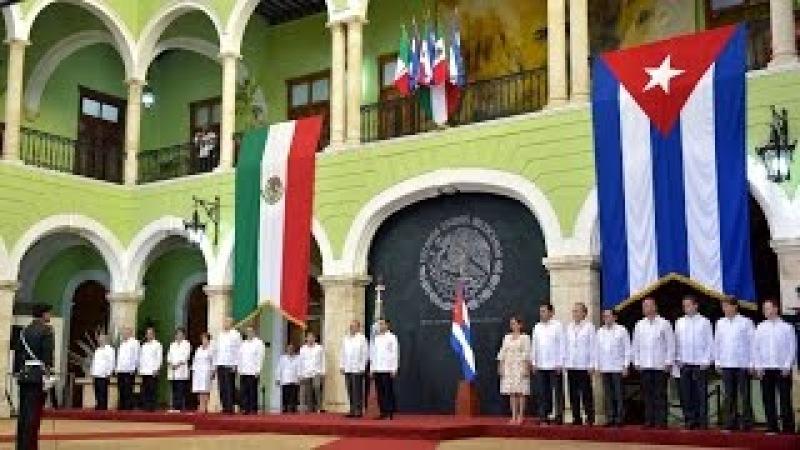 Ceremonia Oficial de Bienvenida: Visita de Estado de la República de Cuba