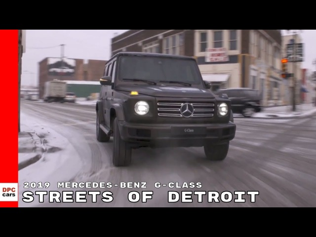 2019 Mercedes-Benz G-Class On The Streets On Detroit