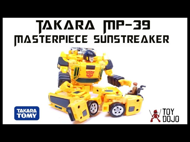 Transformers Takara Masterpiece MP 39 Sunstreaker