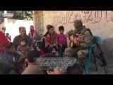 Syria Russian solder sings
