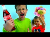 ШОПИНГ ЧЕЛЛЕНДЖ Мистер Макс и Мисс Кейти - Угадай ЧТО и Купи МАЛЬЧИКИ против ДЕВОЧЕК Coca Cola