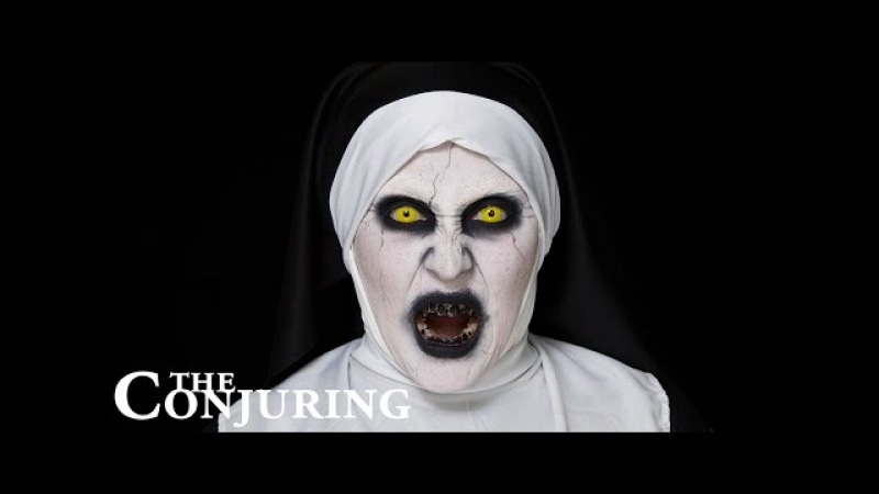 Conjuring 2 Valak | Halloween Make-up Tutorial | Hatice Schmidt » Freewka.com - Смотреть онлайн в хорощем качестве