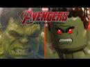 Лего мульт vs кино Мстители Халк против Халкбастера Hulkbuster vs Hulk 60 fps Lego vs Movie