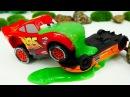 Lamborghini et Flash McQueen. Vidéo pour enfants de voitures de course