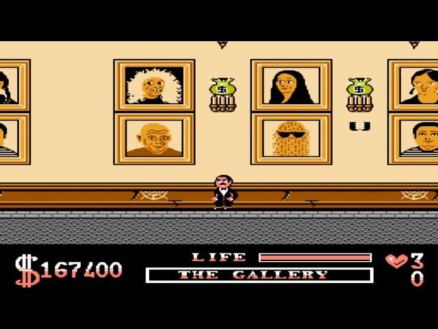 Addams Family NES - Прохождение (Семейка Аддамс, Денди - Walkthrough)
