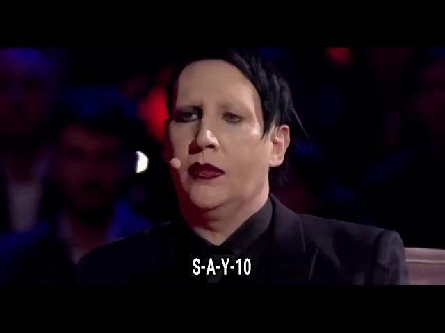 Marilyn Manson Entrevista en Italia Subtitulada en Español