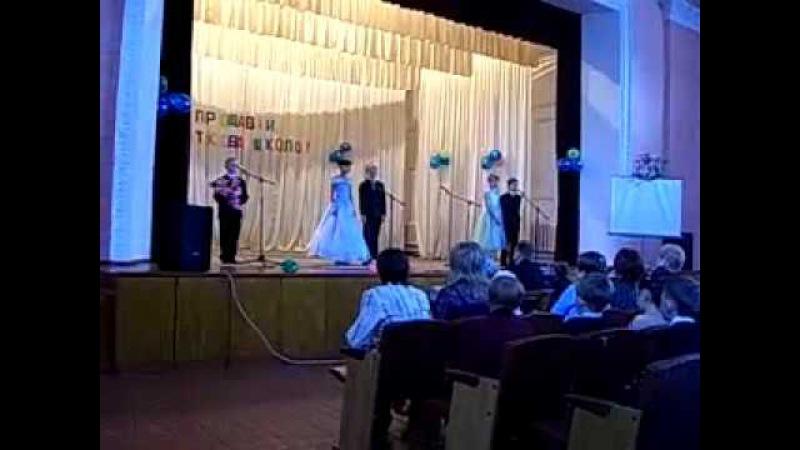 Выпускной 4 класс гимназия Овруч 2008 Випускний гімназія Овруч