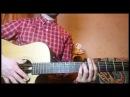 Разбор гитарного боя Испанский