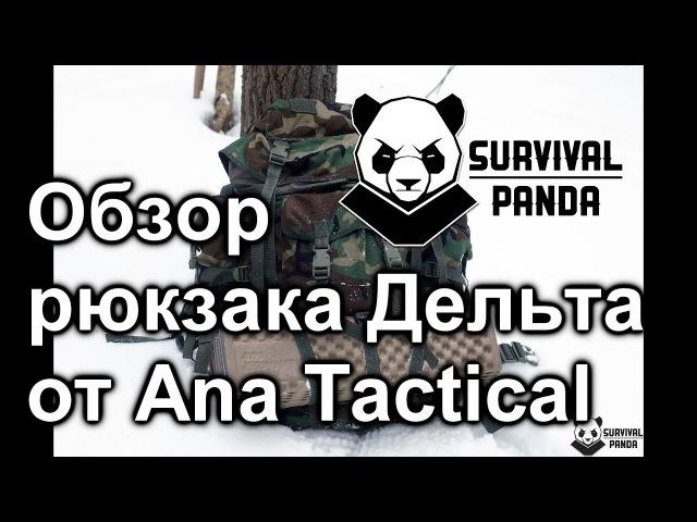 Обзор рюкзака Дельта производства Ana Tactical