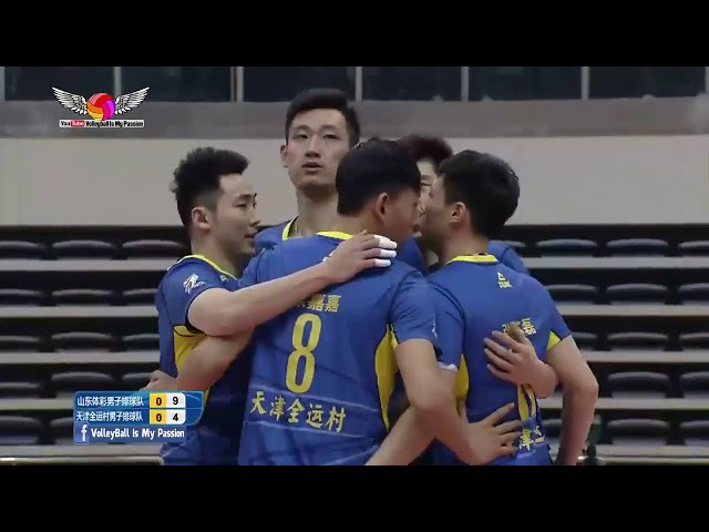 Shandong (山东) vs Tianjin (天津) | 07-01-2018 | Chinese Men's volleyball super league 2017/2018