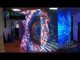 P2.5 big round LED screen