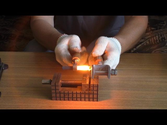 Самодельный аппарат для сварки (пайки) угольными электродами