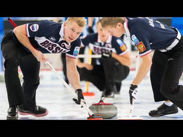 CURLING: SWE-RUS Euro Chps 2013 - Men Draw 6