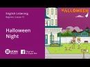 Learn English Listening | Beginner - Lesson 15. Halloween Night