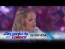 """Evie Clair: Teen Sings Emotional Rendition Of """"Yours"""" - America's Got Talent 2017"""