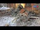 Видео с места падения башенного крана в Кирове