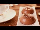 Шоколадная панна котта - веганский десерт на кокосовом молоке. Панакота.