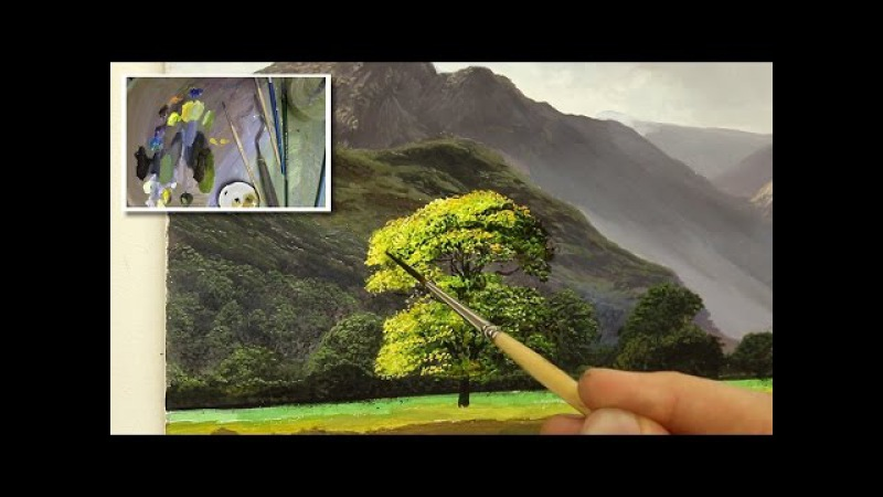 How To Paint A Tree In Oil | Oil Painting Tutorial