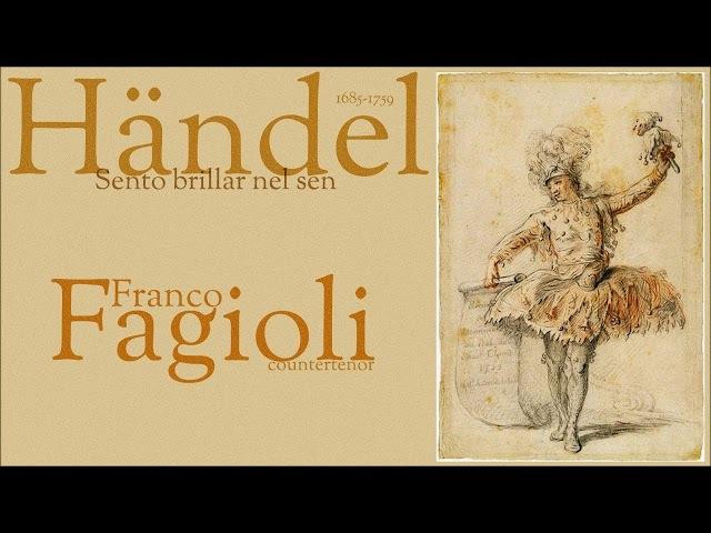 Händel - Sento brillar nel sen - Franco Fagioli - countertenor