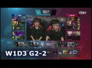 JAG vs KSV Game 2 Week 1 Day 3 S8 LCK Spring 2018 Jin Air Greenwings vs KSV eSports G2 1080p