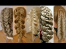 Топ 5. Удивительные косы. Видео-уроки. Hair tutorial.