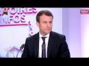 Invité Emmanuel Macron Territoires d'infos 11 04 2017