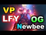 VP vs LFY + OG vs NEWBEE - SWISS DAY 2 - BUCHAREST MAJOR DOTA 2