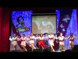 Надежда Якушева и танцевальная группа Аквамарин -