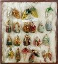 Ёлочные игрушки, изготовленные на московском заводе ёлочных игрушек в 50-ые годы…