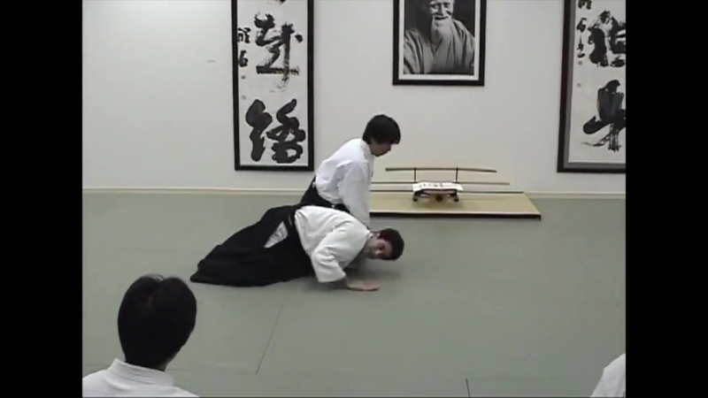 Муне дори - иккё , Харуо Мацуока Сэнсэй, Икадзути додзе