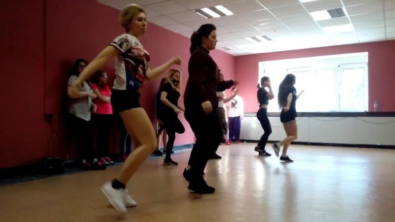 K - POP хореография в студии танца BIONIKA Пермь (открытый урок 10.02)