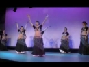 TribalTentOrigins2012 - Kae Montgomery and her student troupe in Japan