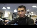 Интервью с Хамидовым Авлиё в преддверии поединка на турнире Kingdom Professional Fight 2