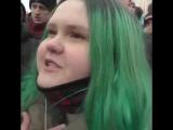 Навальнутая: Если Путин станет президентом, я сдохну от голода!