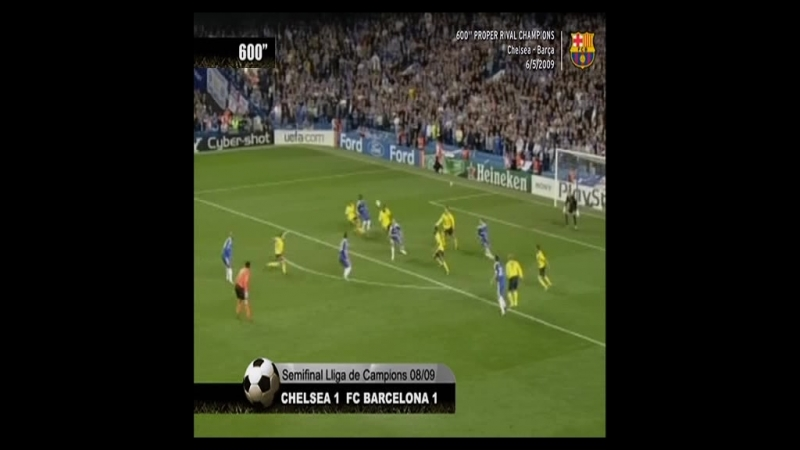 Resumen Chelsea vs FC Barcelona UCL 2008-2009