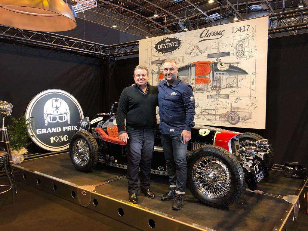 Выставка Retromobile 2018