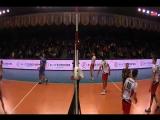 Обзор 21-го тура чемпионата России по волейболу среди мужских команд / 720p