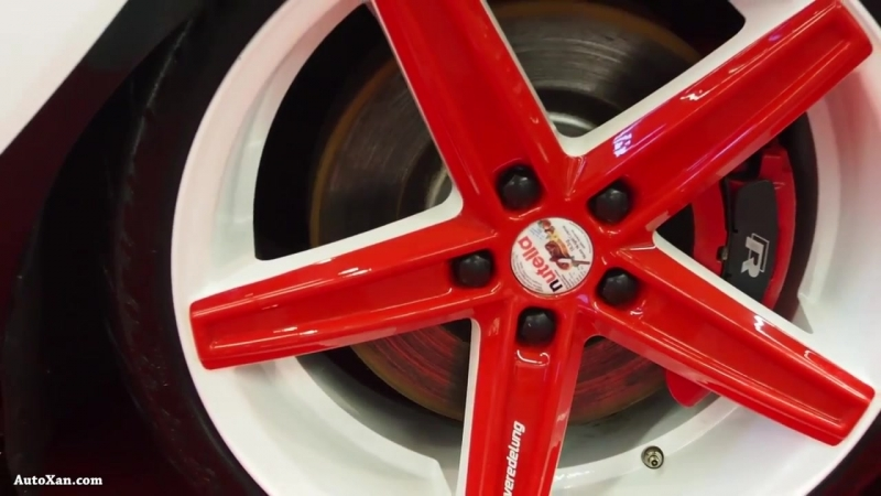 Volkswagen Touran 2007 2.0 267ps 398Hm R19 Tuning - Exterior Walkaround