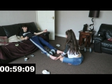 Brother-Sister Tickle feet challenge