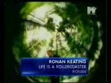 ronan keating - life is a rollercoaster mtv